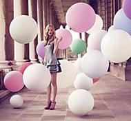 36 polegadas rodada balões rei (3pcs) (cor aleatória)