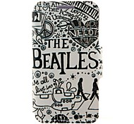 For LG Case with Stand / Flip Case Full Body Case Word / Phrase Hard PU Leather LG