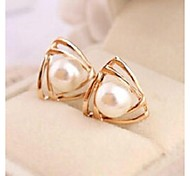 Love Is Your Fashion Nappa Pearl Earrings