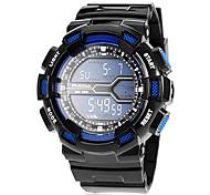 Men's LCD Digital 30M Water Resistant Sport Wrist Watch (Assorted Colors)
