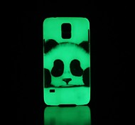 Panda Pattern Glow in the Dark Hard Case for Samsung Galaxy S5