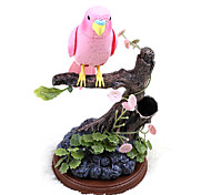Voice-Control Pure Color Parrot with Pen Holder Toys
