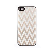 weiß Ripple Design Aluminium-Hülle für das iPhone 4 / 4s