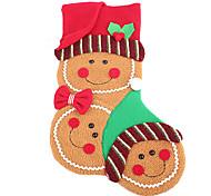 meias estéreo natal pendurar decorações presente para segurar alguma coisa