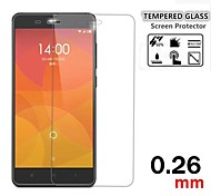 9H 0.26mm Premium Anti-shatter Tempered Glass Screen Protective Film for Xiaomi Mi4