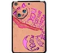 """elonbo adorável Gato de Cheshire 7.9 """"tampa traseira de plástico rígido caso protetor para iPad mini 3"""