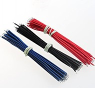 24AWG / 10CM /  electronic wire / cable / double tinned 90PCS
