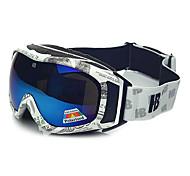 HB The Greenback Frame Double Lens Anti UV Snow Googgles