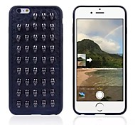 Skull Pattern Silicone Cover for iPhone 6