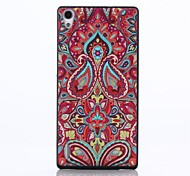 Decorative Pattern PC Hard Back Case for Huawei Ascend P7