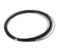 cg16yw-008 resistente a jugar bádminton cadena de elasticidad (1056cm, negro)
