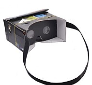 "DIY Google Cardboard Virtual reality VR Mobile Phone 3D Glasses with NFC Function Tag for 4-5.6"" Screen Smartphone"