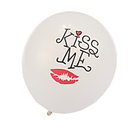 balões namoro de espessura - conjunto de 24