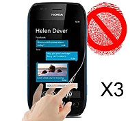 Matte Screen Protector for Nokia Lumia 710 (3 PCS)