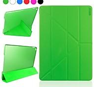 Enkay multi-pliant veille automatique et se réveiller conçu étui de protection avec support pour iPad 2 (air couleurs assorties)
