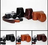 pajiatu dell'unità di elaborazione della fotocamera in pelle custodia protettiva copertura borsa con tracolla per panasonic lumix dmc-GX7 GX7