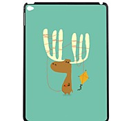 ElonboThe Lovely Deer and A Kite Plastic Hard Back Case Cover for iPad Air 2