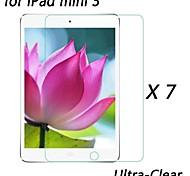 [7-pack] profesional cristal de alta transparencia lcd protector de pantalla ultra claro para Mini iPad 3