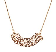 JANESTONE Women's Chinese Style Concise Personalized Alloy Necklace