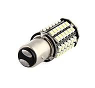 Car Tail Backup Light Bulb 2PCS 1157 BA15D 80 LED 3528 SMD  White DC 12V JHK179001