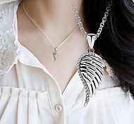 The Wings Of The Angel Necklace Jewelry,in 925 Sterling Silver Necklace,Cubic Zirconia Necklace,Women's Necklace