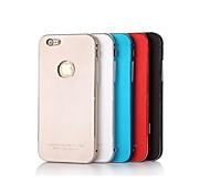 luphie completo ultrafina de metal de alumínio Capa para iPhone 6 (cores sortidas)