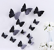Животные Романтика Праздник Пейзаж 3D Наклейки 3D наклейки Декоративные наклейки на стены Наклейки на холодильник Свадебные наклейки,Винил