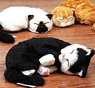 Emulational Cat Shaped Plush Toy For Pet Cats(Assorted Colour)