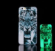 Tiger Pattern Glow in the Dark Hard Case for iPhone 6