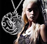 Retro Men's Game of Thrones Targaryen Dragon Necklace