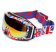 HB The British Flag Frame Double Lens Anti UV Snow Googgles