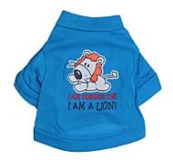 Lovely Dog Pattern 100% Cotton T-Shirt for Dogs (Assorted  Sizes)