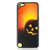 Halloween Pumpkin Lantern Pattern Plastic Hard Case for iTouch 5