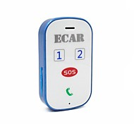 ECAR GSM/GPRS/GPS Tracker For Children Elderly Pet Car Have Two-Way Conversation,Tracking by SMS or Internet,SOS Alert