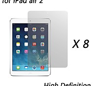 [8-Pack] Premium High Definition Clear Screen Protectors for iPad air 2