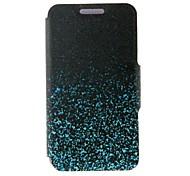 For Nokia Case Card Holder / Flip Case Full Body Case Color Gradient Hard PU Leather Nokia Nokia Lumia 625
