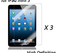 [3-pack] High-Definition-Clear Displayschutzfolien für das iPad mini 3