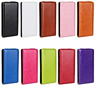 Flip-Open Horse Grain PU Leather Full Body Case for Sony Xperia M C1905 (Assorted Colors)