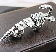 Z&X®  Punk Vintage Style Super Cool Alloy Scorpio Armors Men's Knuckle Ring Christmas Gifts
