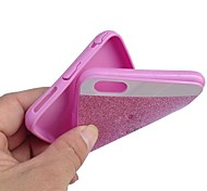 Soft TPU Bling Glitter Back Case Cover for iPhone 4/4S(Assorted Colors)
