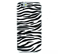 Zebra Pattern TPU Soft Cover for iPhone 6/6S