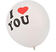 tamanho extra grande eu te amo balões de espessura - conjunto de 24