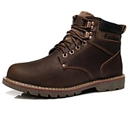 Men's Shoes Fashion Boots Round Toe Flat Heel Calf Hair Ankle Boots More Colors available
