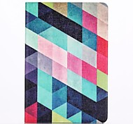 Custodia in pelle modello multicolore lattice con protezione dello schermo e lo stilo per ipad mini 3/2/1