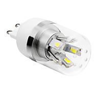Bombillas LED de Mazorca T G9 4W 10 SMD 5730 280 LM Blanco Cálido / Blanco Fresco AC 85-265 V