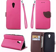 KARZEA™ Leaf Mixed Colors TPU Leather Full Body With Stand and Stylus for MOTO G2 (Assorted Colors)