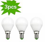 H+LUX™ E14 7 W 18 SMD 2835 550 LM Warm White G Globe Bulbs AC 220-240 V