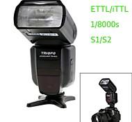 Triopo tr-982ii n i-TTL de sincronización maestro / esclavo de alta velocidad de 1 / 8000s flash Speedlite para la cámara réflex digital nikon