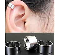 Earring Ear Cuffs Jewelry Wedding / Party / Daily / Casual Alloy Gold / Black / Silver