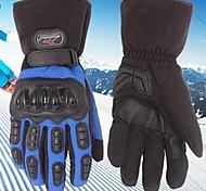 invierno madbike ™ cálidos a prueba de viento impermeables de protección de carreras dedo completo guantes de moto guantes moto